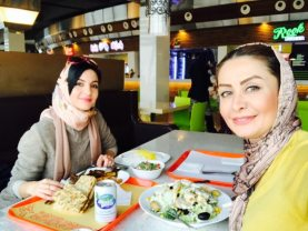 Having Lunch in Milad Tower