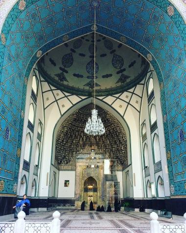 Goharshaad Mosque in Mashaad