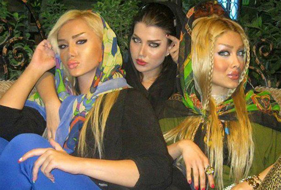 Iranian Girls after makeover.jpg