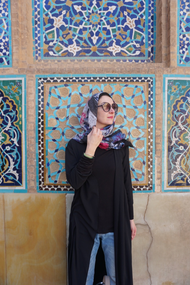 Persian colours in Yazd
