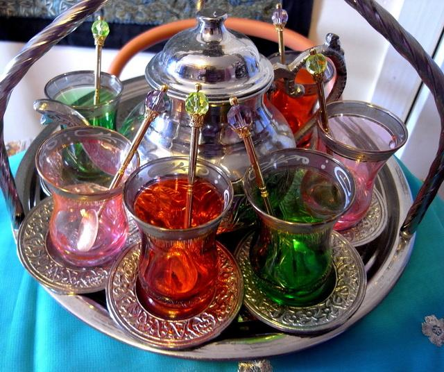 Turkish-multi-coloured-glass-tea-set-on-silver-carry-tray.jpg
