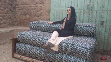 Persa in un villaggio berbero del Marocco