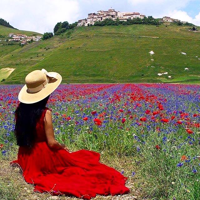 Monet a Castelluccio