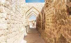 Antiche rovine di Qalat al Bahrain